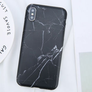 Accessories - Black Marble iPhone Case 7 8 Plus X XS XR Max